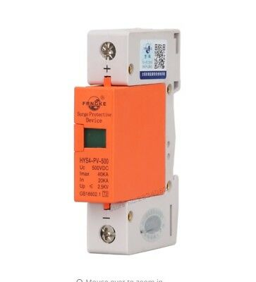 SPD 1P 40KA~80KA voltage power House Surge arrester protection Protective Device