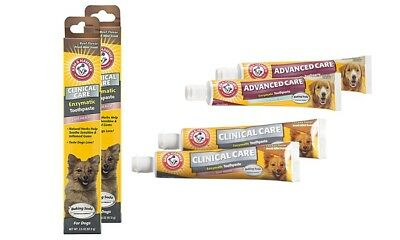 3-Pack Arm & Hammer Pet Advanced Dental Care Toothpaste for Dogs and Puppies