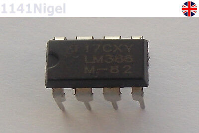 LM386N LM386 AMP AUDIO PWR MONO 8DIP NEW UK ......................(Pack of 1-10)