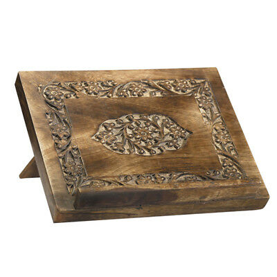 Carved Bible/ Missal Stand (MD034) NEW 10 Inches, 1 1/2 Inch Ledge