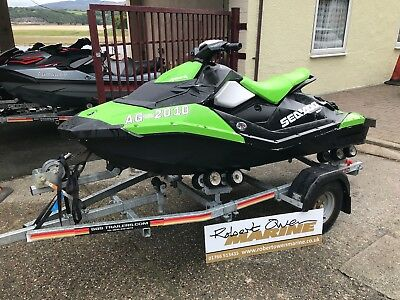 2016 Seadoo Spark 2up 90hp iBR, 60hrs Use -Trailer - Cover - 3 months Warranty!