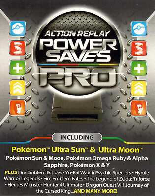 DATEL ACTION REPLAY for Nintendo 3DS 2DS Power Saves PRO Cheat Codes NTSC