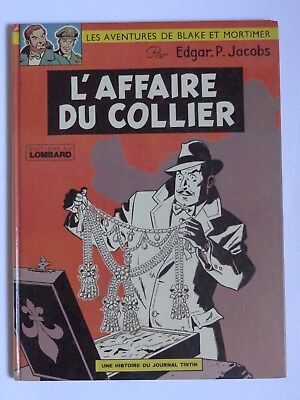 Blake & Mortimer L'AFFAIRE DU COLLIER DL Septembre 3e Trimestre 1967 (Ed. 1975)
