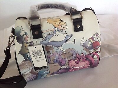 Disney Loungefly Alice in Wonderland Watercolor handbag brand new with tags