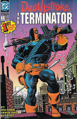 DC Comics Deathstroke the Terminator 1991 set 0, 1-60 (61 total issues)
