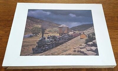 "Package of ONE HUNDRED Howard Fogg 12"" x 16"" Prints - D&RGW class T-12s"