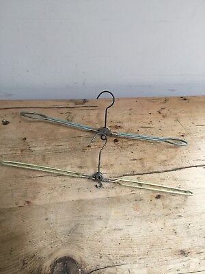 Mid 20Th C Fold Up Travel Hangers - Great For Steam Trunks