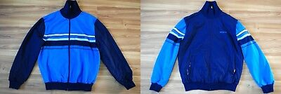 2 SIDED ADIDAS WEST GERMANY TRACKTOP VINTAGE JACKET 1980s SIZE ADULT S SMALL