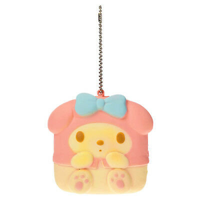 Sanrio MY MELODY SQUISHY TOASTED MARSHMALLOW KEYCHAIN Hello Kitty Squish
