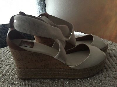 6321e340e TORY BURCH ADONIS Espadrille Wedges   Includes dustbag - Size 8 ...