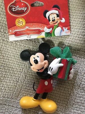 "DISNEY Special 85th Anniversary Mickey Mouse Christmas Ornament 3.5""H - NWT"