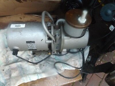 Edwards speedivac 2 with Edwards oil mist filter sold as spares