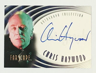 Farscape Season 2 Autograph Auto Card A10 Chris Haywood as Maldis