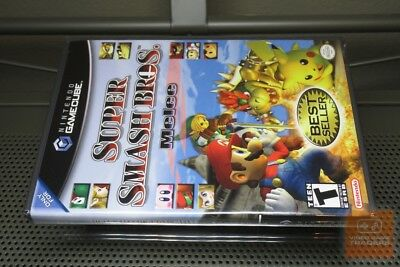 Super Smash Bros. Melee Best Seller (GameCube 2004) FACTORY SEALED! - RARE!