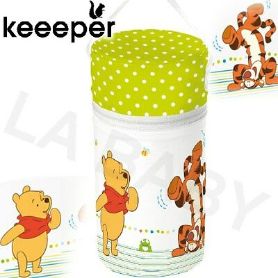 Babies Baby Single Thermal Insulator Insulated Bottle Warmer Winnie the Pooh