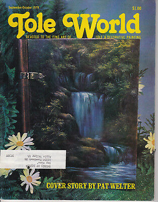 TOLE WORLD MAGAZINE - Sept-Oct 1979 - Good - Tole and Decorative Painting