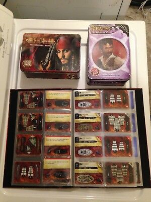Wizkids PIRATES Constructible Strategy Game Cards, tins, Large Lot of Items