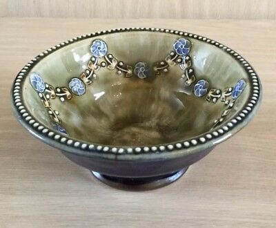 Royal Doulton Stoneware Bowl With Swag Decoration