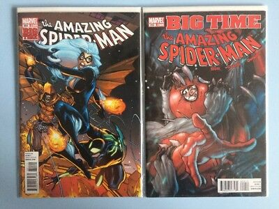 The Amazing Spider-Man # 651 and 652 Marvel Comics NM 2011