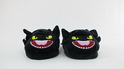 Toothless How To Train Your Dragon Plush Slippers Full Cover