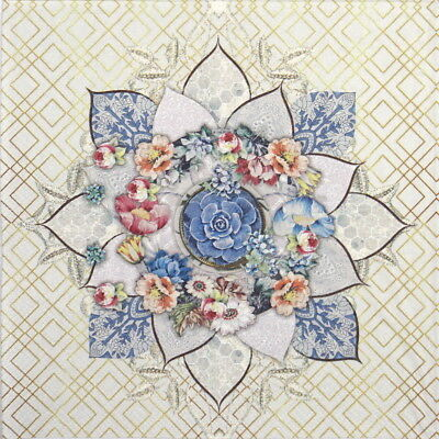4x Paper Napkins for Party, Decoupage Craft Romee