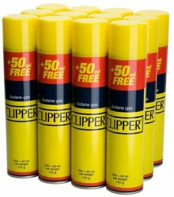 Genuine Original CLIPPER Universal Butane Gas Fuel Fluid Refill Lighters 300ML