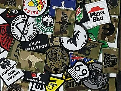 #1 Airsoft Morale Patch Gift Bundle
