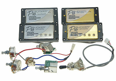 Original LP ProBucker Humbucker Pickups w/ Wiring Harness for Epiphone Les Paul