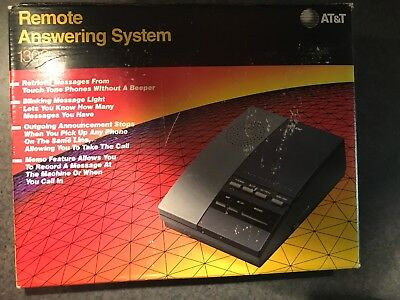 AT&T 1306 Analog Remote Answering System Machine Brand New in Box 048898008500