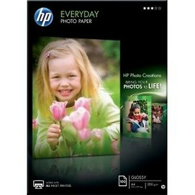 HP Q2510A Everyday Glossy A4 Photo Paper - 100 sheets