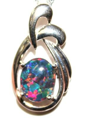 Natural Black Triplet Opal Good Choice Special Gift !!!