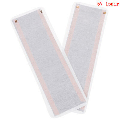 2pcs USB 5V 20*6cm Carton Warm Heating Heater Winter Warm Plate Waist Shoes Pad`