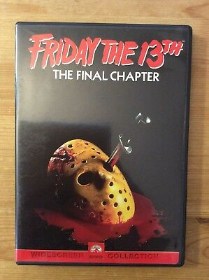 Friday the 13th - Part 4: The Final Chapter, 1984 (DVD, Widescreen) *No Tax*