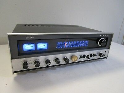 Vintage Fisher 205 Stereo Receiver w/ LED Upgraded Dial Lamps -----------> Cool!