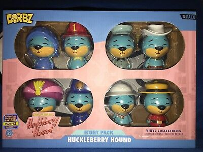 Funko Dorbz HuckleBerry Hound Eight Pack Hanna Barbera exclusive SDCC 2017