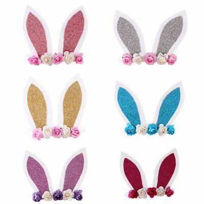 Cute Kids Girl Baby Bunny Ear Headband Hair Band Accessories Headwear Head Wrap