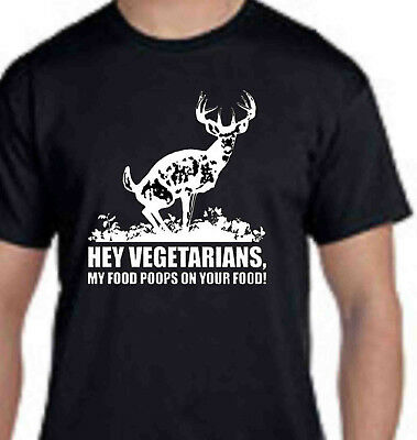 Hey Vegetarians My Food Poops On Your Food funny decal sticker car BUMPER PETA