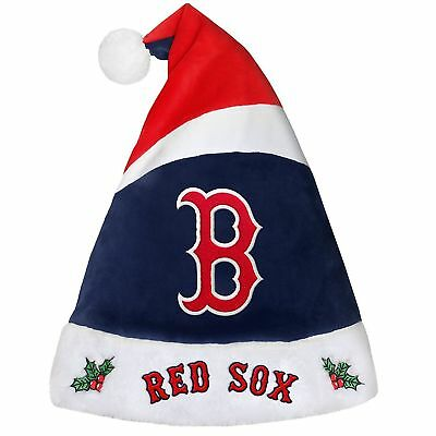 """Boston Red Sox 17"""" Christmas Stocking Hat Baseball Game day hat ~ NEW"""