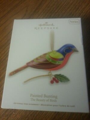 Hallmark Keepsake Ornament - 2012 - Painted Bunting- The Beauty Of Birds Series