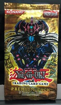 YUGIOH TCG - PREMIUM PACK - ENGLISH EDITION, SEALED x1
