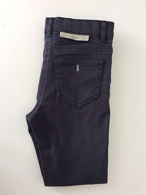 Stella McCartney Black Skinny Stretch Boys Jeans Vgc Age 8