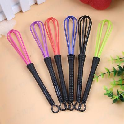 Useful Handle Small Mini Coloured Plastic Whisk Random Home Kitchen Wholesale