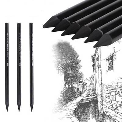 3 Pcs/set Professional Sketch Charcoal Pencils Drawing Pencils For Painting