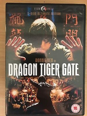 Donnie Yen Dragon Tiger Gate ~ 2006 Artes Marciales Película 2-disc Gb DVD