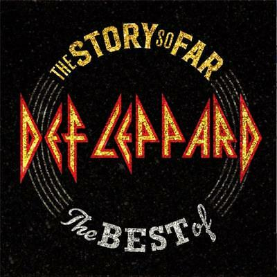 Def Leppard The Story So Far the Best of 2 CD NEW