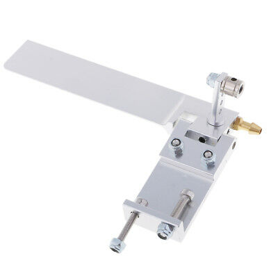 Aluminum Alloy 95mm Metal RC Boat Rudder Water Pickup Absorbing Steering A