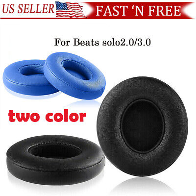 Solo 2 / 3 Wireless Beats Replacement Earpads Cover Cushion Headphone Ear Pads