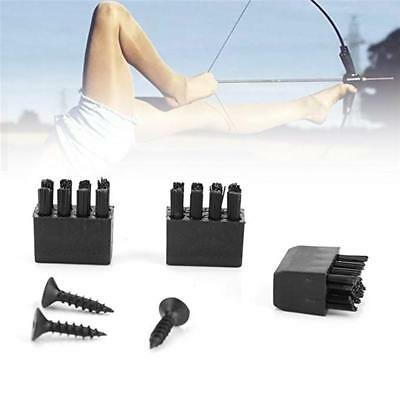 Compound Bow Archery Arrow Rest Brush Replacement With Screw Supplies New FI