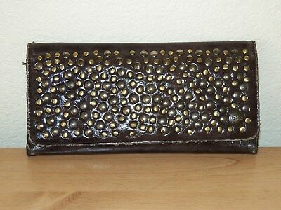 Kenneth Cole Embellished Trifold Wallet Coin Purse Womens 8.5X4 Pre-Owned