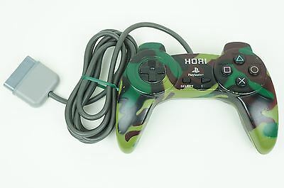Hori Sony Playstation Hori Pad 2 Camouflage Controller PS1 Japan USED
